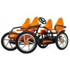 Bike-Hire-4-seat cruiser