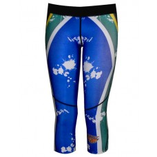 SA Flag 3/4 Compression Tights