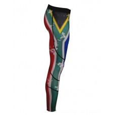 SA Flag Tights Compression Long