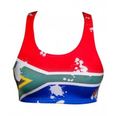 SA Flag Crop Top