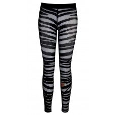 Zebra Tights-Compression Full Length