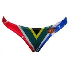 SA Flag Bikini Bottom Plain