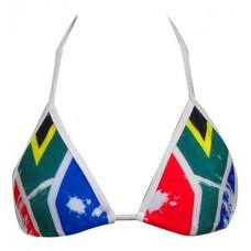 SA Flag Bikini Triangle Top