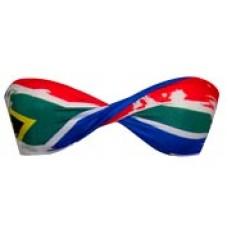 SA Flag Bikini Twist Top